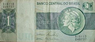 Brazilian cruzeiro (1970–1986) Brazilian currency from 1970 to 1986