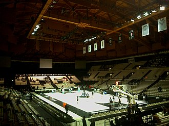 2001–02 Euroleague - The PalaMalaguti in Bologna hosted the Final