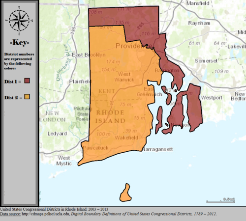 United States Congressional Districts in Rhode Island, 2003 – 2013.tif