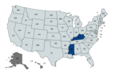 United States gubernatorial elections, 1955.png