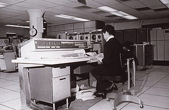 UNIVAC 1100/2200 series - A Univac 1108 used to process the 1970 United States Census