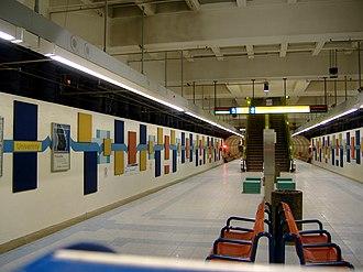 University station (Edmonton) - Image: University LRT Station 2312140960