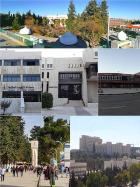 الجامعة الأردنية ويكيبيديا