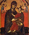 Unknown painter - Madonna del Popolo (detail) - WGA23877.jpg