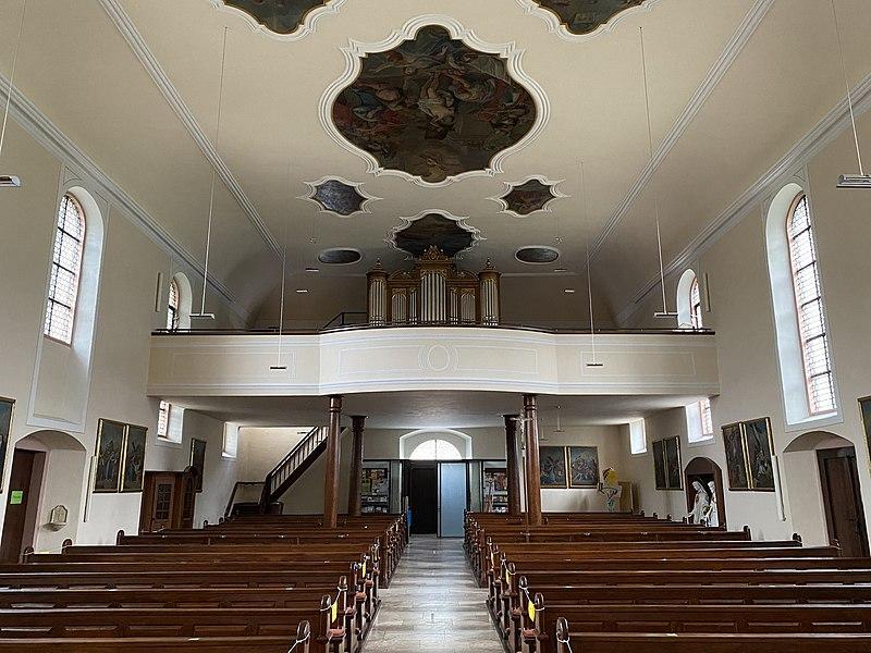 Datei:Untersimonswald, St. Sebastian, Orgel.jpg