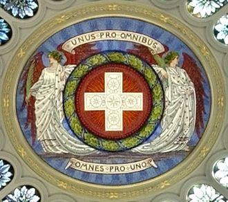 Unus pro omnibus, omnes pro uno - Image: Unus pro omnibus, omnes pro uno