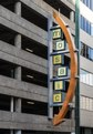 Unusual parking-garage sign in downtown Dallas, Texas LCCN2014632165.tif
