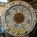 Urbino, bottega fontana, piatto a raffaellesche con concerto campestre, 1565-75 ca..JPG