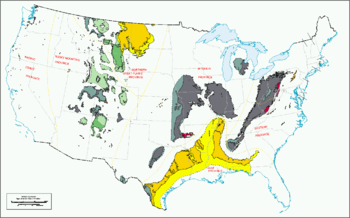 Coal Regions Of The United States