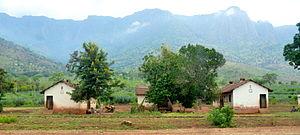 Usambara Railway - Image: Usambara Railway station in