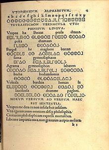 Utopian language