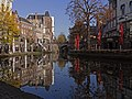 Utrecht, de Jansbrug met monumentale panden aan de Oudegracht (RM36502 en 36503) foto5 2015-11-01 10.18.jpg