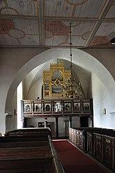 Fil:Västerhejde kyrka interiör orgel Gotland.jpg