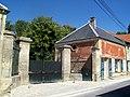 Vémars (95), maison 1 rue Pasteur, portail.jpg
