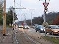 Výjezd tramvaje Modřanská.jpg