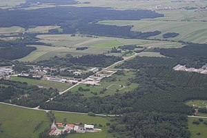 Austrian Armed Forces - Allentsteig (157 km²) is the largest training area in Austria
