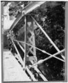 VIEW, UNDERSIDE OF DECK, VIEW TO EAST - Cemetery Road Bridge, Cemetery Road, spans Black Creek, 2 miles Southwest of Salem, Salem, Washington County, NY HAER NY,58-SAL,1-5.tif