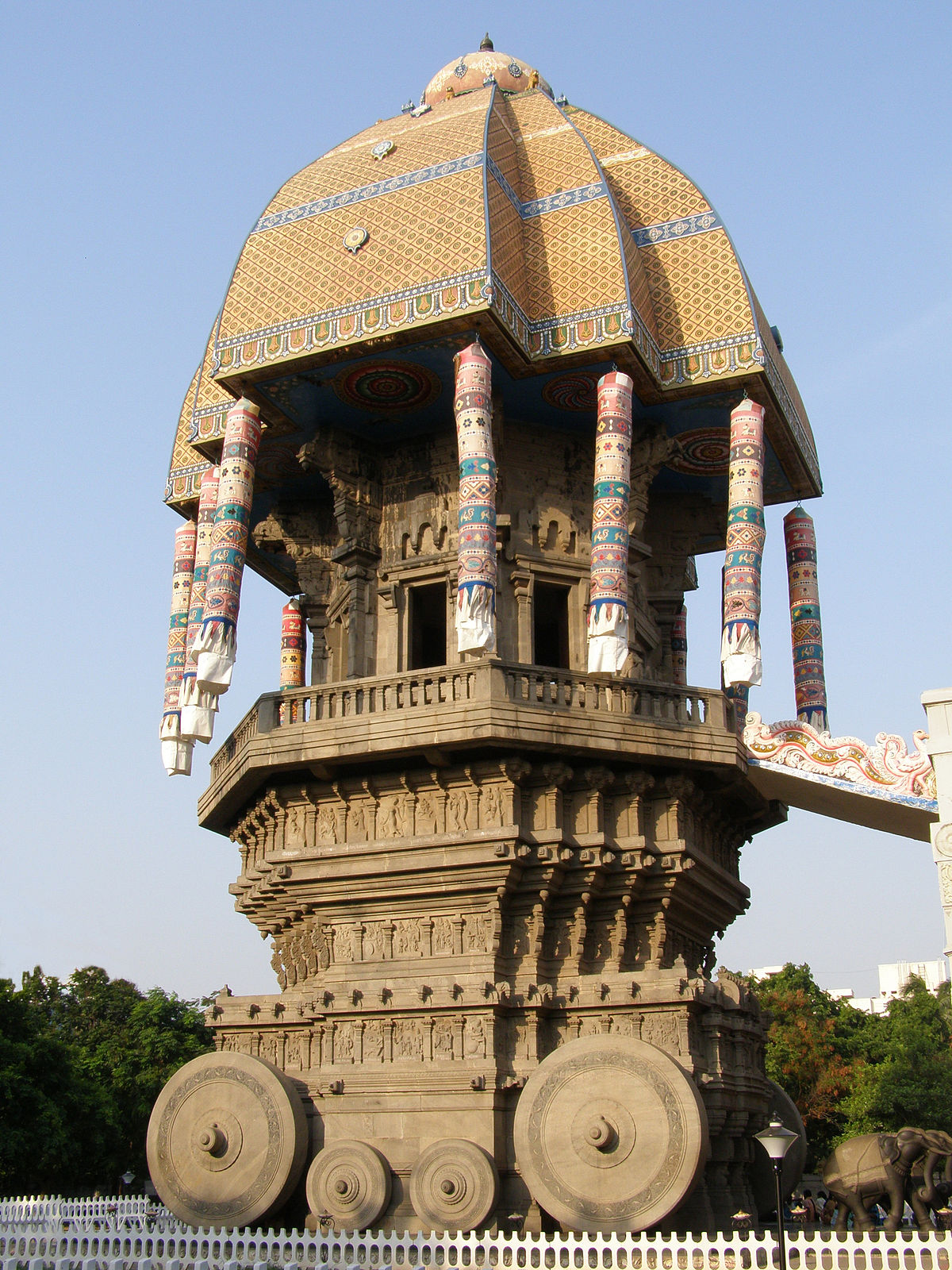Image Galleries For Lionaid Campaigns: Valluvar Kottam
