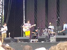 Vampire Weekend Lollapalooza festivalil, USA, Illinois, Chicago, Grant park, 9. august 2009