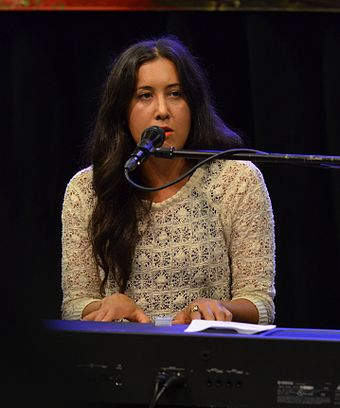 Carlton performing live in August 2011 Vanessa Carlton 2011.jpg