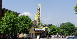 The Varsity Theater on 4th Street