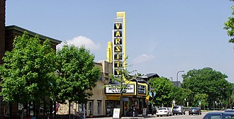Dinkytown - The Varsity Theater on 4th Street SE