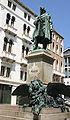 Venezia - Luigi Borro (1826-1886) - Monumento a Daniele Manin (1875) - 04 - Foto Giovanni Dall'Orto, 6-Aug-2007.jpg
