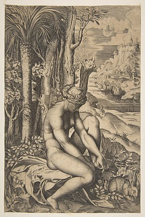 Marco Dente - Venus removing a thorn from her left foot