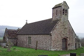 Very small ancient church at Llangovan - geograph.org.uk - 299356.jpg