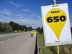 Catalan Way - Start of the section 650, in Pontós (Alt Empordà)