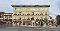 Victoria, BC - Swans Hotel (Scott Building) pano 01 (20396318108).jpg