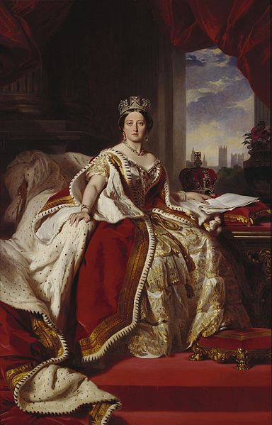 File:Victoria in her Coronation.jpg