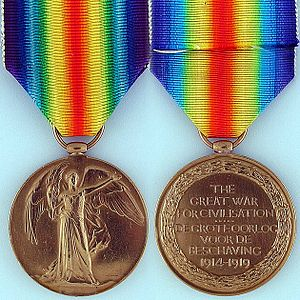 Victory Medal (South Africa) - Image: Victory Medal (South Africa)