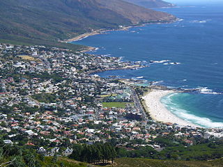 Camps Bay Suburb of Cape Town, Western Cape, South Africa