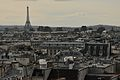 View of Eiffel tower from Centre Pompidou September 26, 2011.jpg