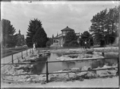 View of hot pool in the grounds of the Rotorua Sanatorium ATLIB 224384.png