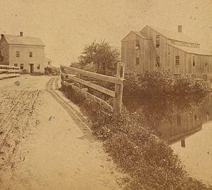 Hopkinton, Rhode Island - View of Hopkinton, ca. 1860-1885