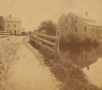 Hopkinton, Rhode Island - View of Hopkinton, ca. 1860-1885