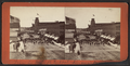 View on Main St. during fireman's parade, by F. B. Clench.png