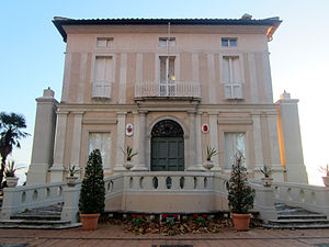 Villa Lante al Gianicolo - View of Villa Lante, entrance facade.