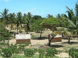 Inhambane - Village in Inhambane province near the town