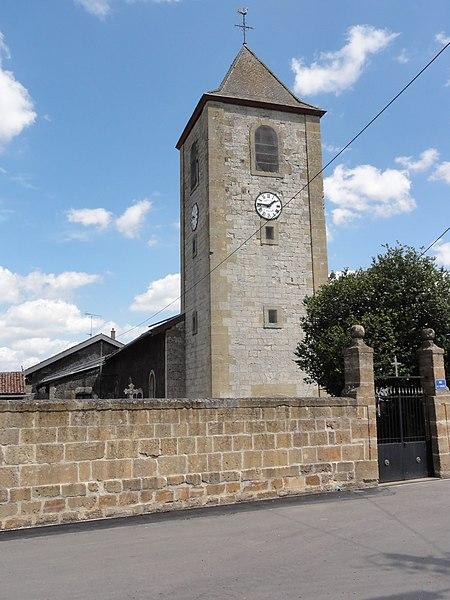 Villers-lès-Mangiennes (Meuse) église