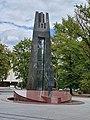 Vincas Kudirka Monument in Vilnius 2019.jpg