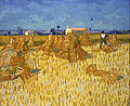 Vincent Van Gogh - Corn Harvest in Provence - Google Art Project.jpg