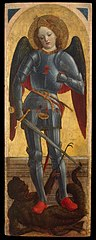 Archangel Michael (wing of a polyptych)