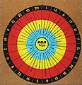 Vintage RCA Promotional-Advertising Dart Board (12353312035).jpg