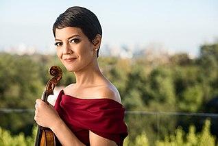 Anne Akiko Meyers American concert violinist