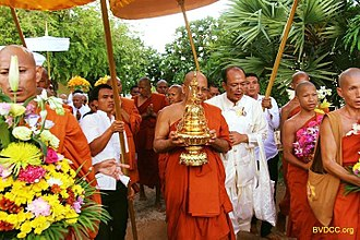 Buddhism in Cambodia - Visak Bochea commemorates the birth, enlightenment and passing of the Buddha.