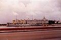 Visiting St Petersburg, July 1996 - Cruiser Aurora on Neva River and L'Hermitage.jpg
