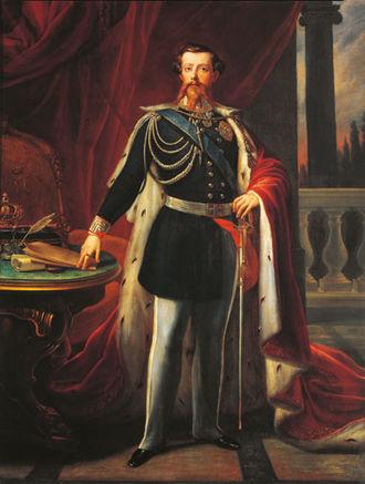 Victor Emmanuel II of Italy - Victor Emmanuel II in 1849